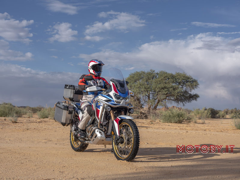 Africa Twin and Africa Twin Adventure Sports