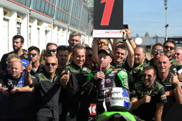 Kawasaki Puccetti Racing – Mahias vince la gara WorldSSP di Magny Cours!
