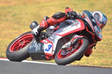 MV Agusta: De Rosa è quinto nella Superpole di Portimao