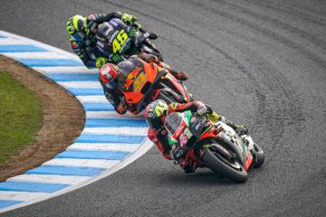 In Giappone il Team Aprilia Racing scivola sui problemi tecnici