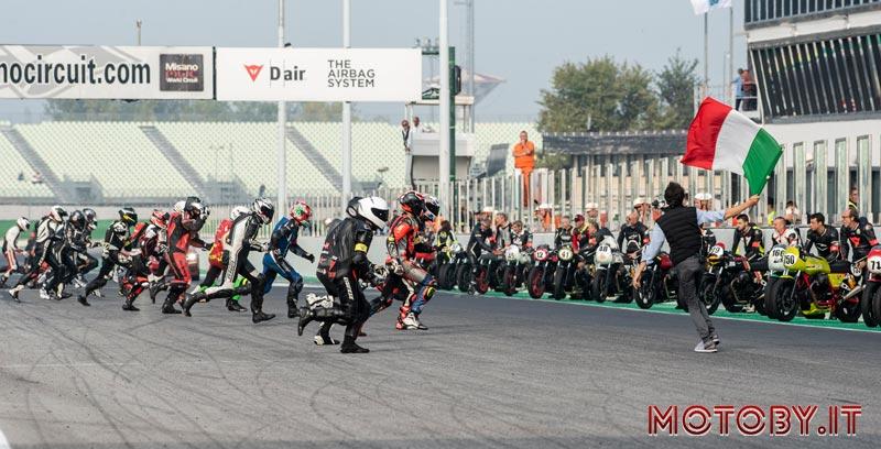 Moto Guzzi Fast Endurance partenza