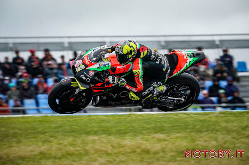 MotoGP Australia - Aprilia - Espargaro