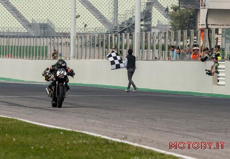Moto Guzzi Fast Endurance Arrivo