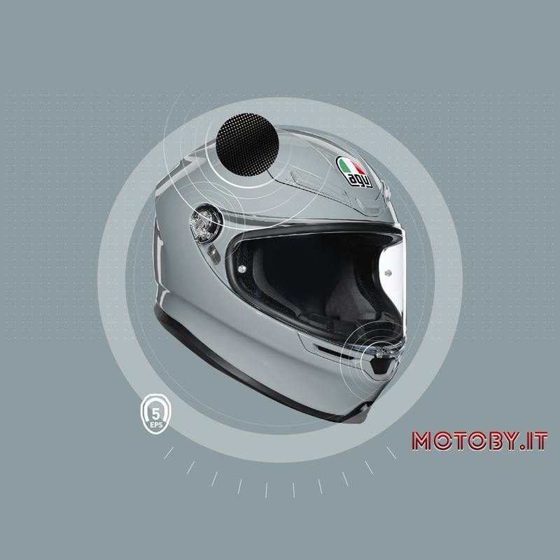 AGV MotoGp K6 casco Protezione