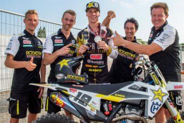 Husqvarna Motorcycles ringrazia Jacky Martens