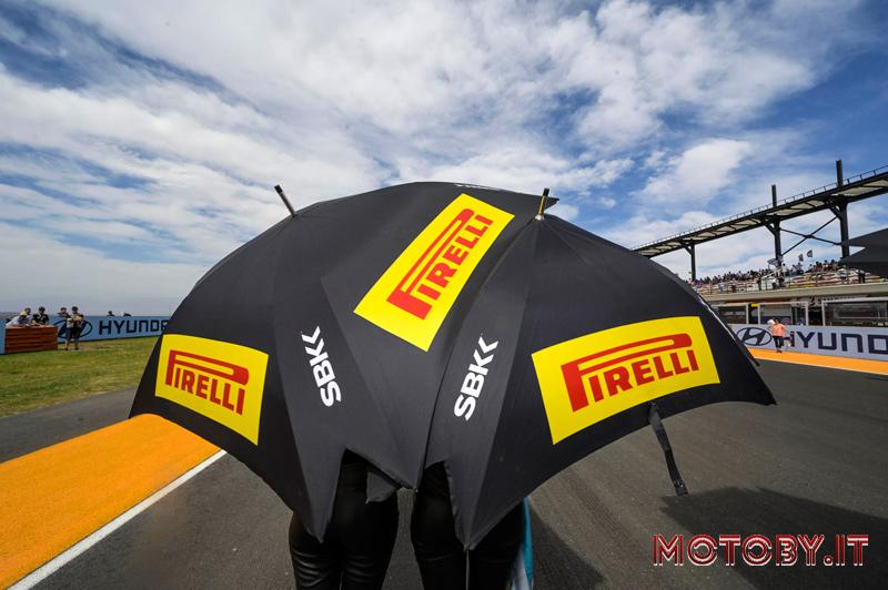 Pneumatici Pirelli Aragona Superbike