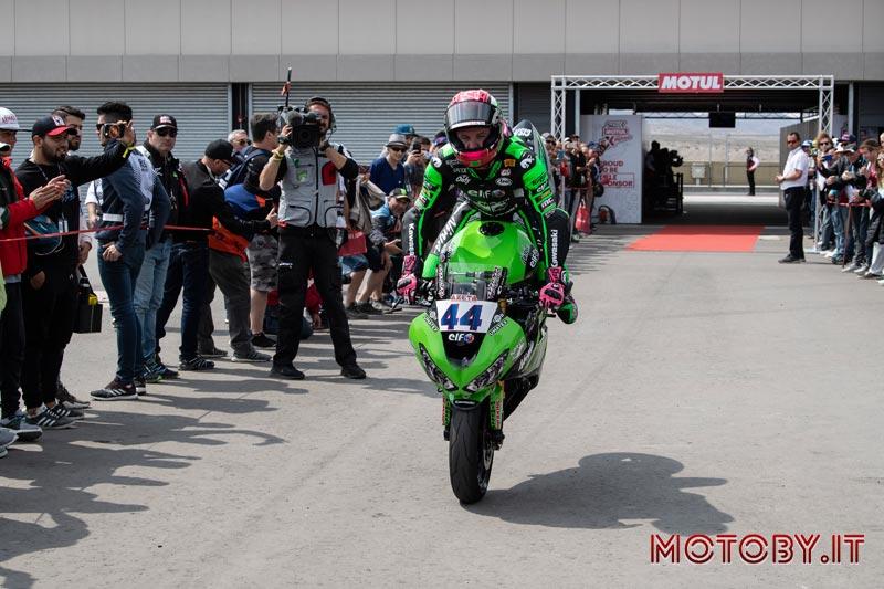 Kawasaki Puccetti Racing Mahias