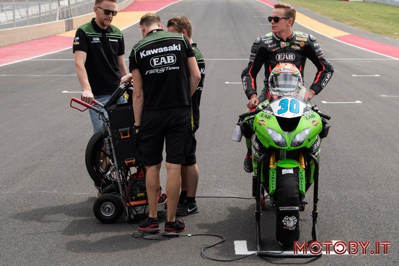 Kawasaki Puccetti Racing Van Straalen