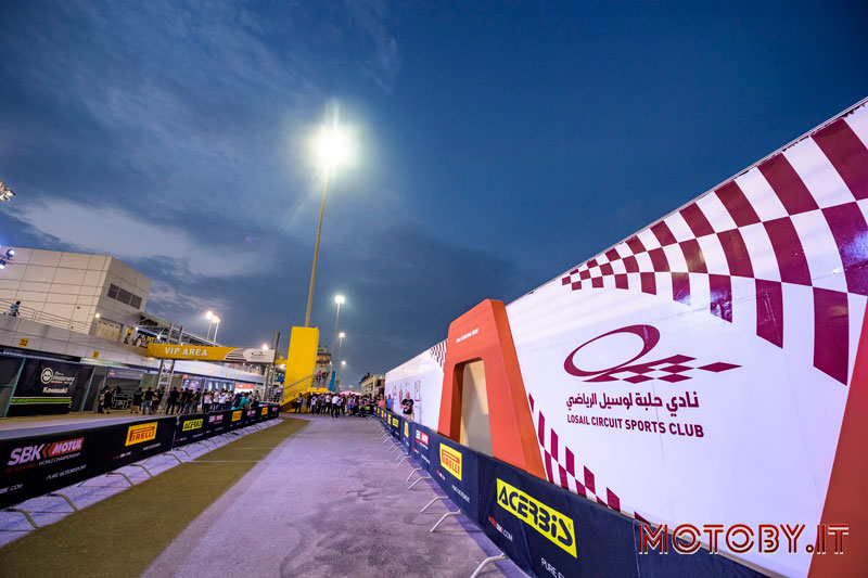 Losail Circuit Qatar World SuperBike Pirelli