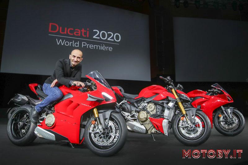 Claudio Domenicali Ducati World Premiere 2020
