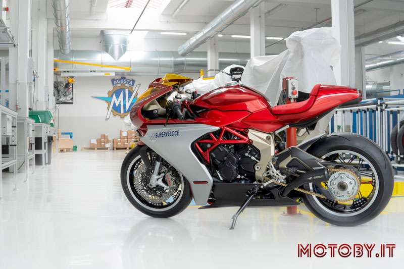 MV Agusta SuperVeloce 800 Serie Oro