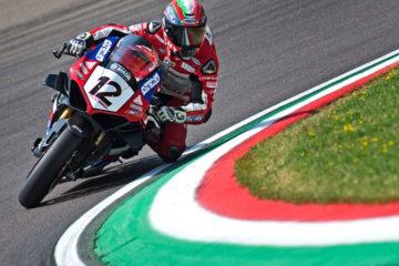 Weekend a Vallelunga per Ivan Goi per la settima gara del National Trophy 1000 SBK
