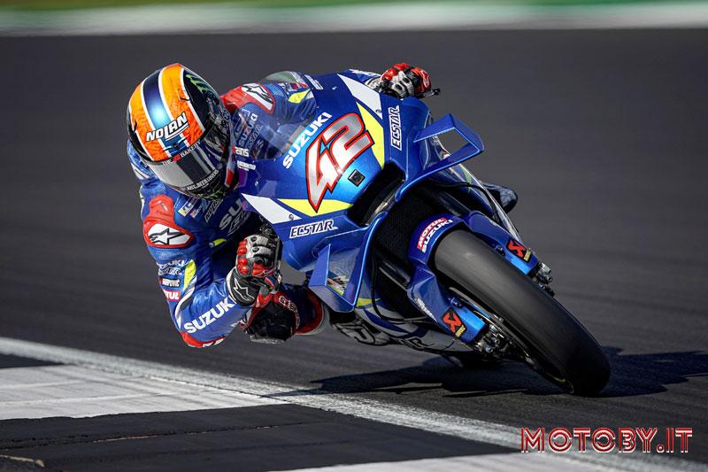 Alex Rins su Suzuki