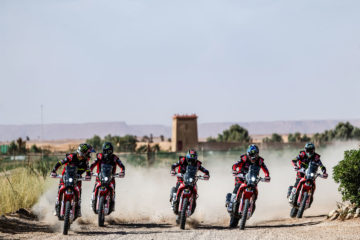 Dakar Rally 2020 Team Monster Energy Honda