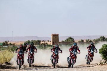 Dakar Rally 2020 Team Monster Energy Honda