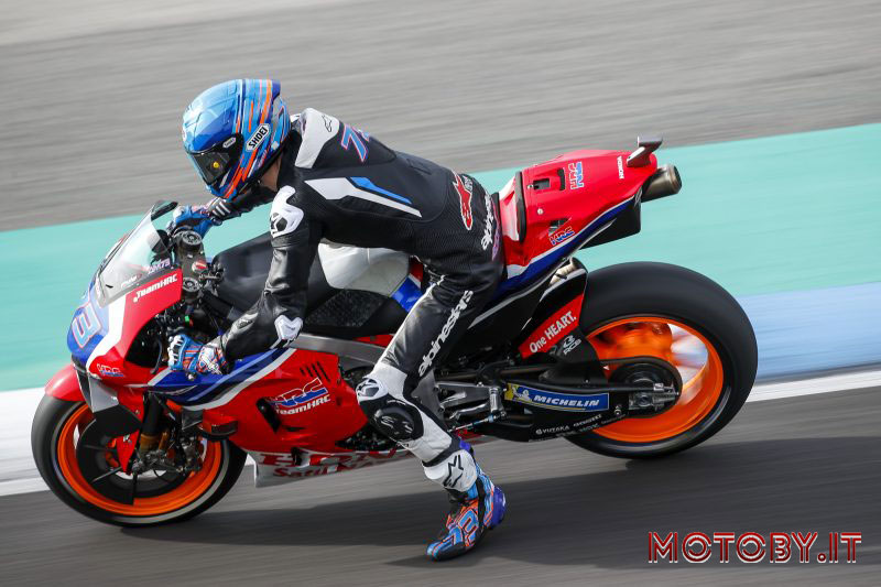 Honda Repsol Test Jereza MotoGP