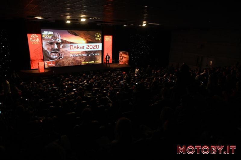 Presentazione Dakar Rally 2020 Team Monster Energy Honda