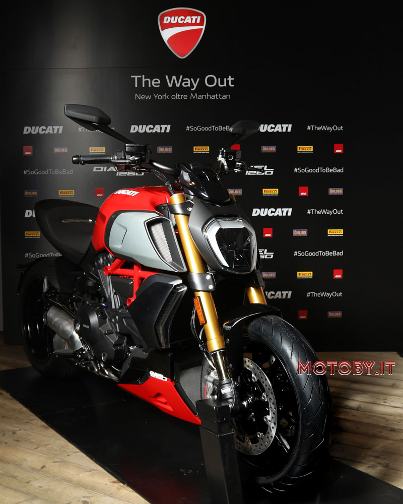 Ducati Diavel 1260 The Way Out