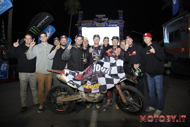 Team SLR Honda Baja 1000