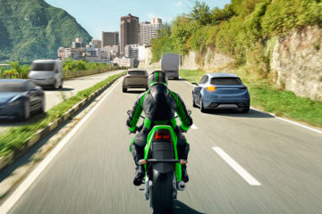 Sulle Kawasaki l'Advanced Rider Assistance System Bosch
