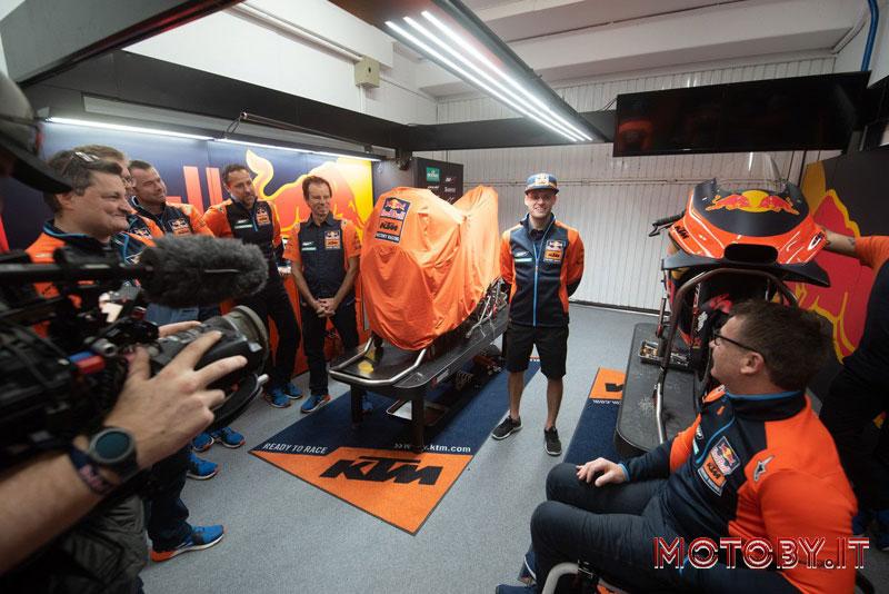 Brad Binder Red Bull KTM