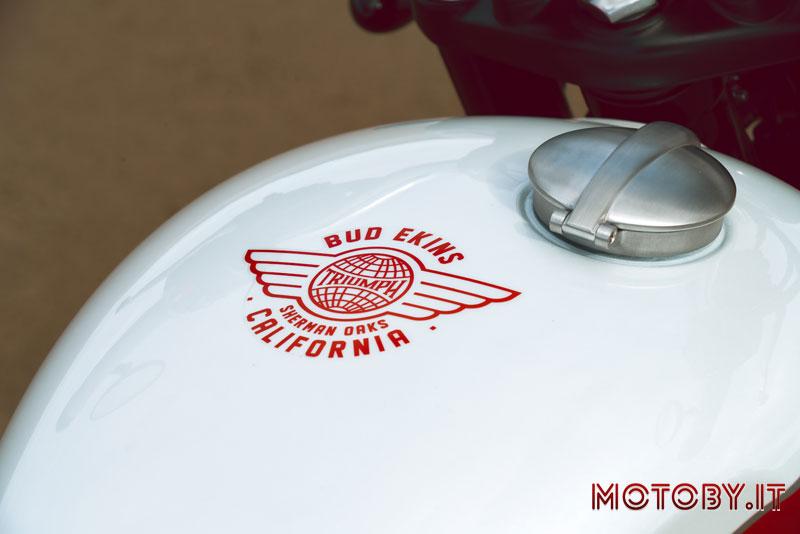 Triumph Bonneville T110 Ekins