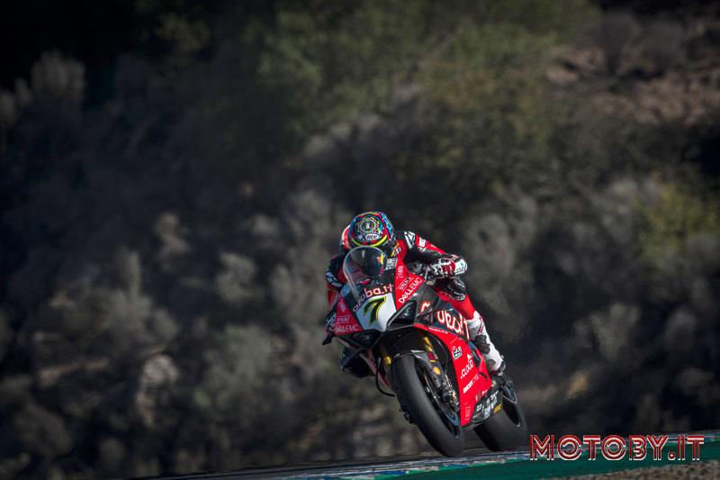 Ducati SBk Aruba.it Chaz Davies Jerez