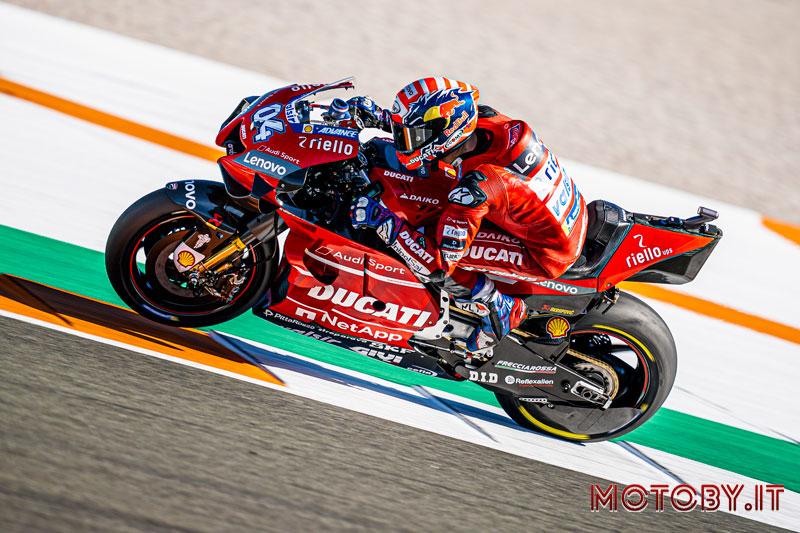 Andrea Dovizioso Ducati MotoGP 2020 test
