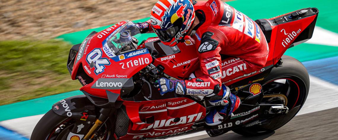 Dovizioso MotoGP Ducati Jerez