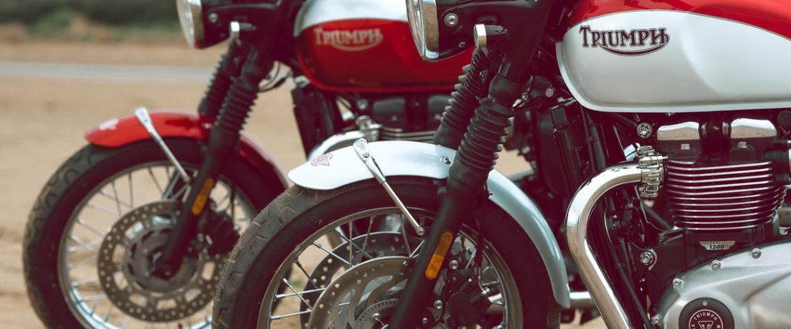 Triumph Bonneville T110 e T120