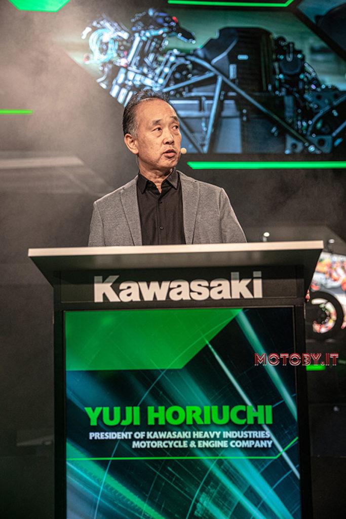 Yuji Horiuchi Kawasaki Bosch sicurezza