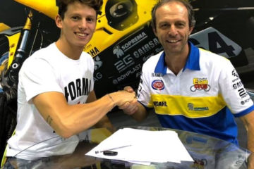 Andrea Locatelli Team Bardahl Evans Supersport