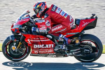 Dovizioso quarto nell'ultima gara MotoGP a Valencia