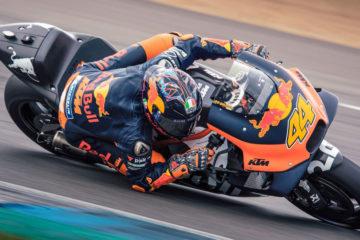RedBull al lavoro per i piovosi test MotoGp 2019 di Jerez
