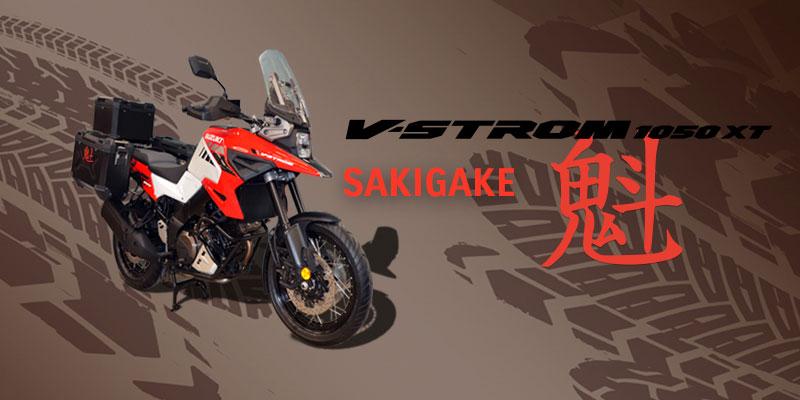 Suzuki V-Strom 1050XT Sakigate