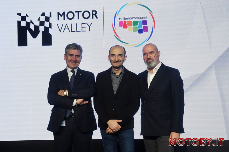 Claudio Domenicali Presidente Motor Valley