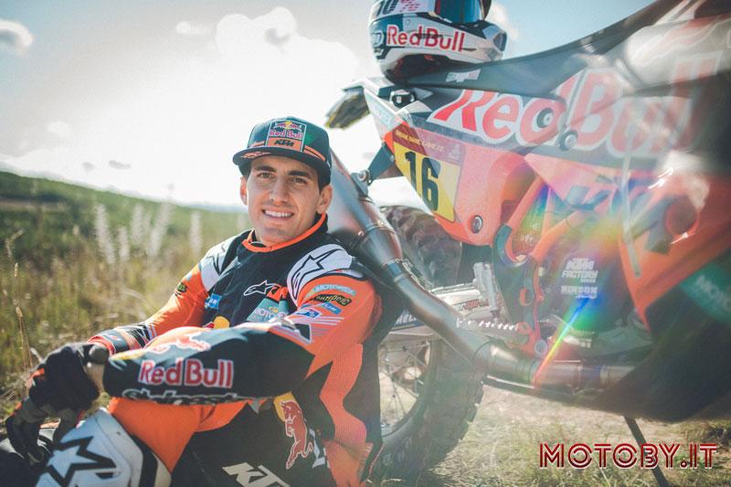 Luciano Benavides Red Bull Ktm Dakar rally