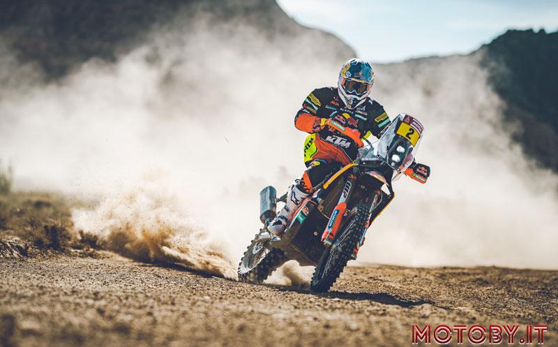 Matthias Walkner Red Bull KTM Dakar Rally