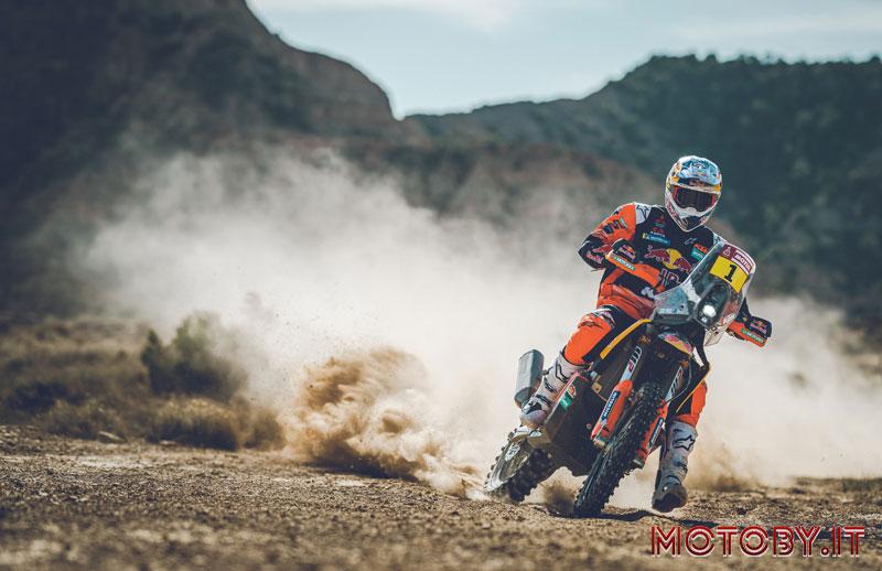 Toby Price Red Bull KTM Racing Dakar 2020