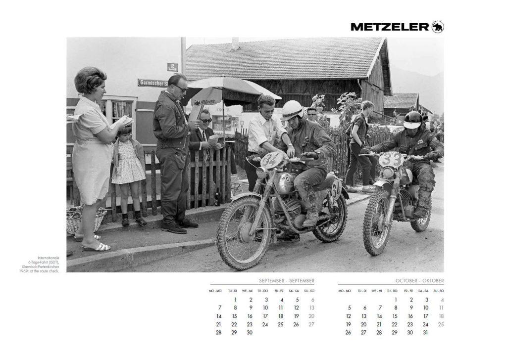 Calendario Metzeler Classic 2020