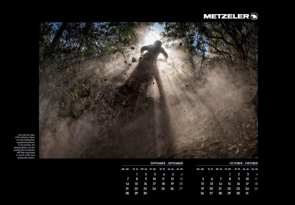 Calendario Metzeler Extreme 2020
