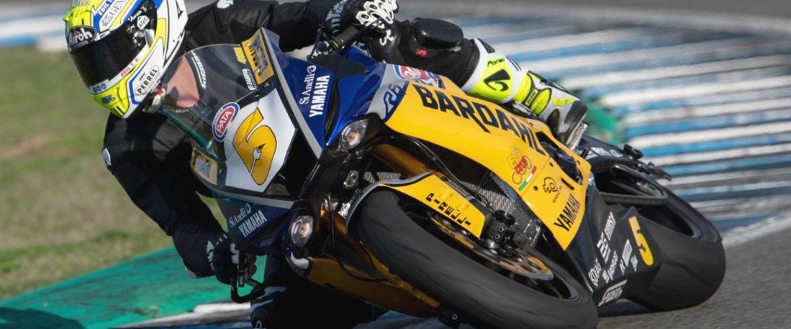 Team Bardahl Evan Bros Yamaha Supersport Jerez