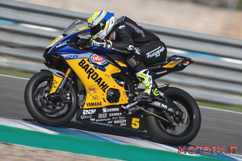 Team Bardahl Evan Bros Jerez Yamaha