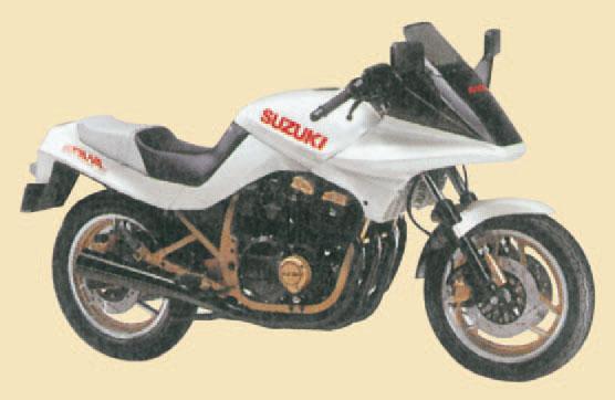 Suzuki Katana Shark 1984