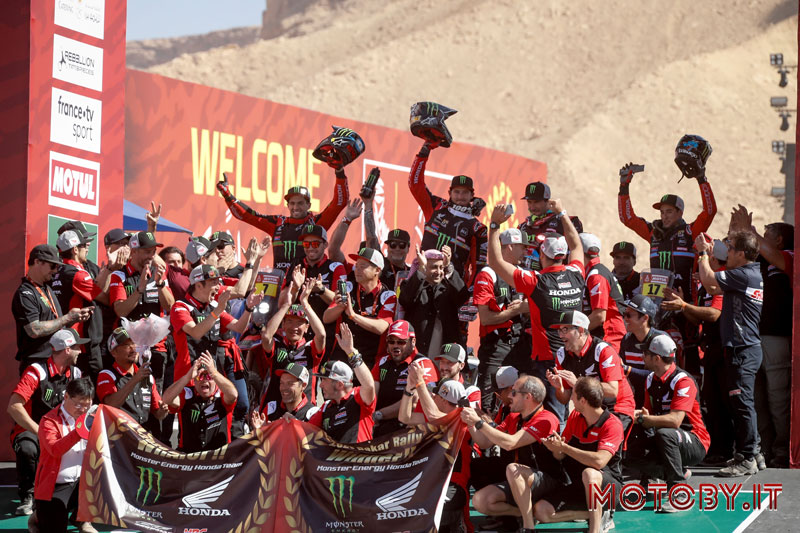 Honda Dakar Rally 2020 Team