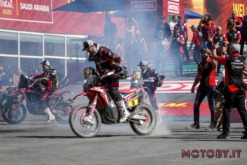 Honda Dakar Rally 2020 Ricky Brabec