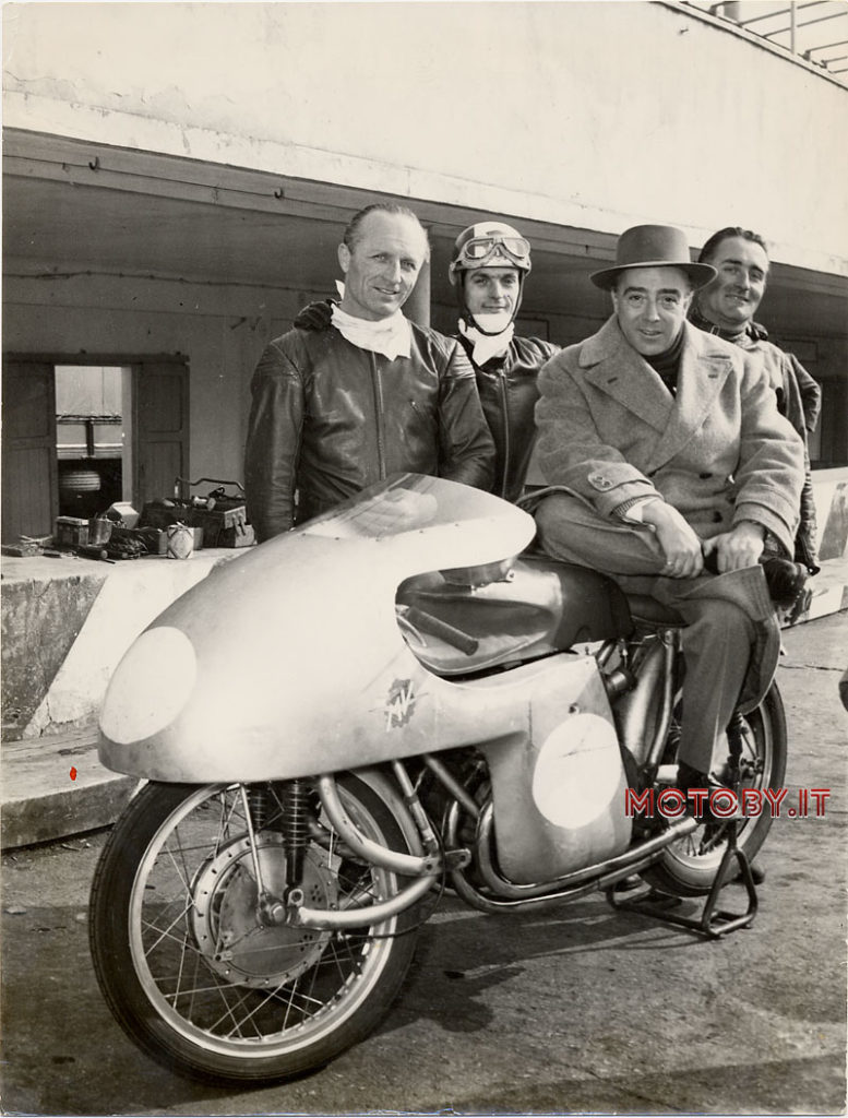 Conte Agusta e John Surtees