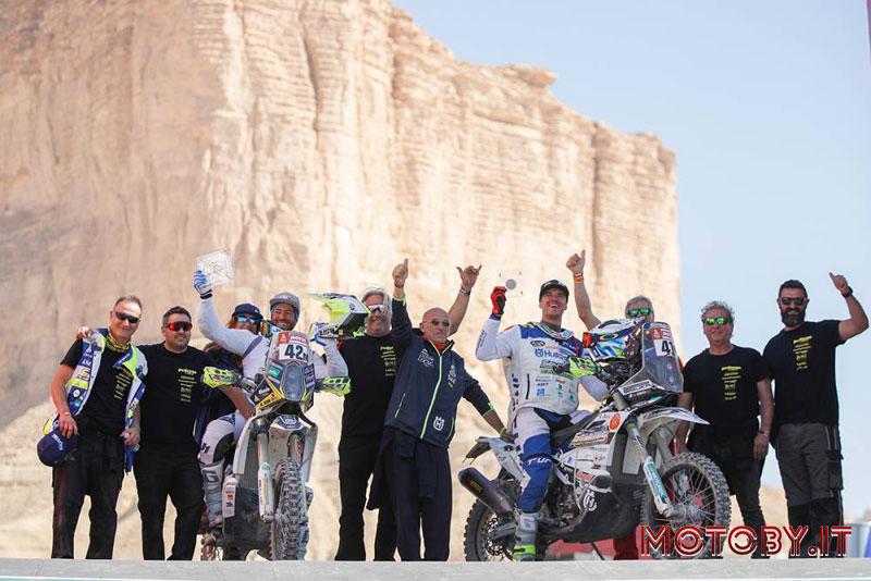 Gerini e Cerutti Dakar Rally 2020 Husqvarna