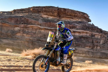 Franco Caimi Monster Energy Yamaha Rally Team