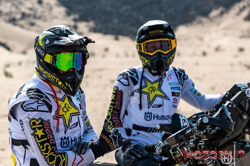 Pablo Quintanilla e Andrew Short